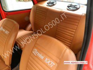 interni personalizzati Fiat 500 d'epoca